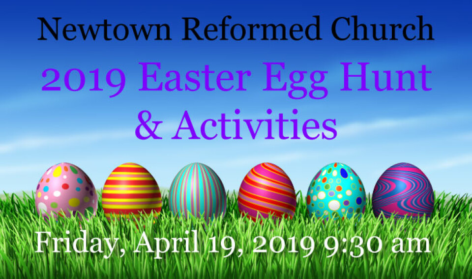 2019 Easter Egg Hunt and Activities